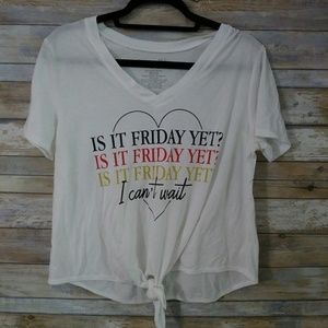 Is it Friday Yet?? Tee size large